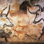 Lascaux cave painting of bulls
