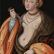 """Lucretia"" by Lucas Cranach the Elder"