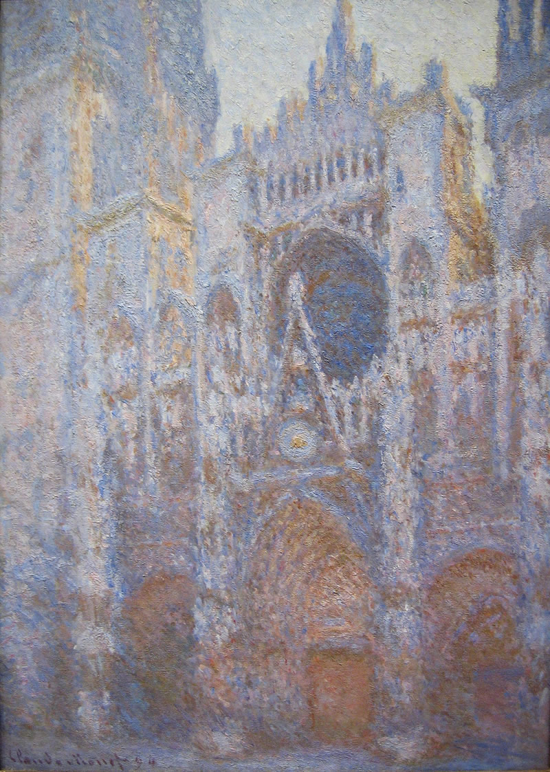 Claude Monet, Rouen Cathedral, West façade, 1894