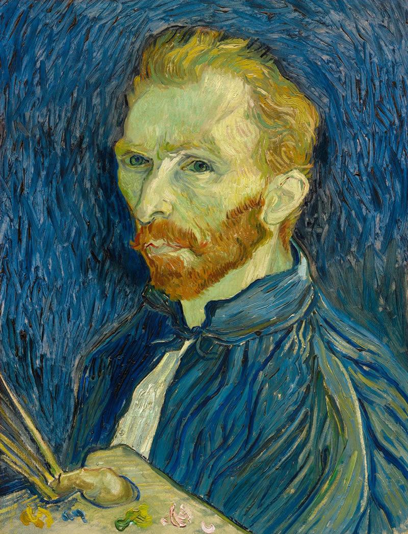 Vincent Van Gogh, Self-Portrait, August 1889