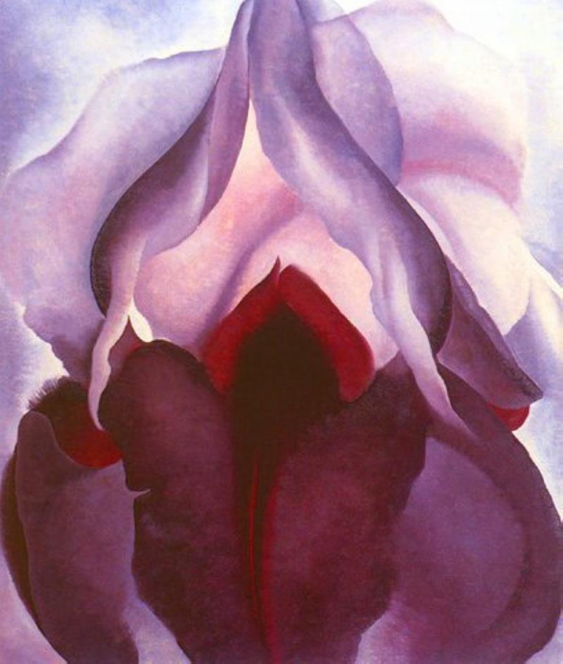 "Georgia O'Keeffe, from ""Flower of Life II"" series"