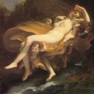 Pierre-Paul Prud'hon, The Abduction of Psyche by Zephrus to the Palace of Eros