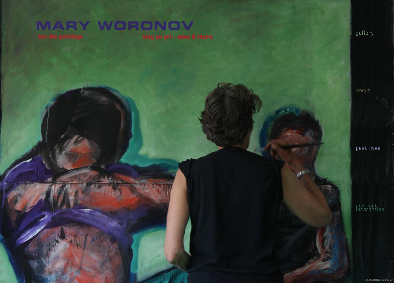 Mary Woronov Paintings